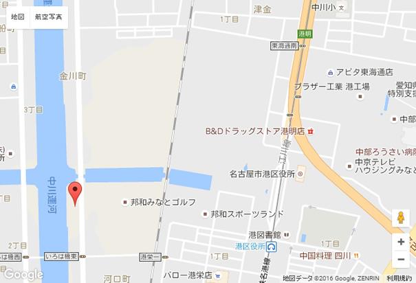 名古屋店周辺地図