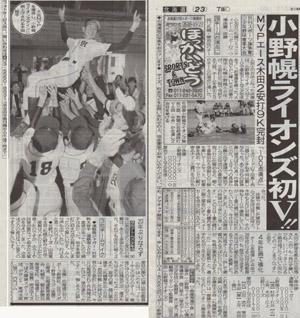 日刊スポーツ旗 MVP