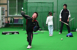 札幌市の野球少年5年生 投球フォーム
